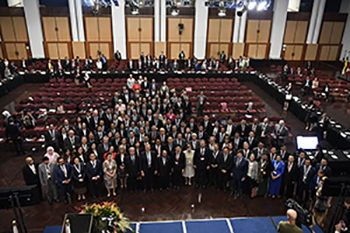 Asia Pacific Parliamentary Forum Opening Ceremony in Great Hall.